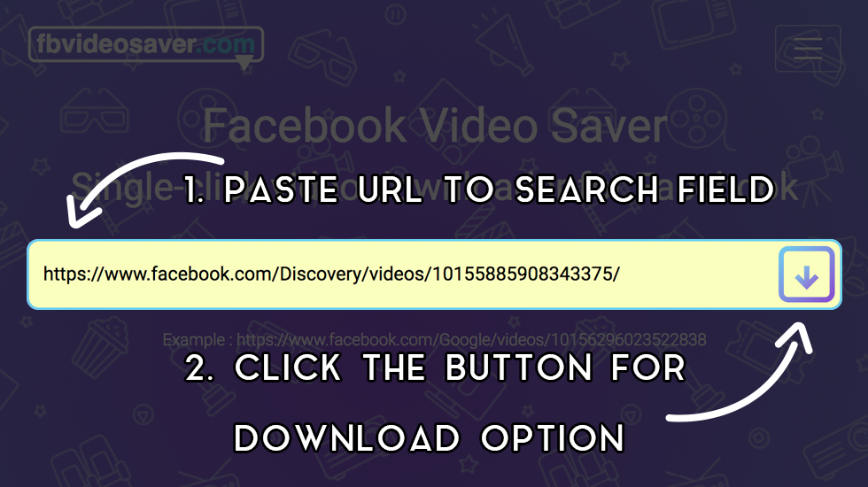 How to use fbvideosaver.net image